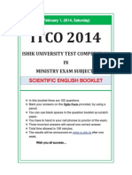 Itco 2014 Scientific-English