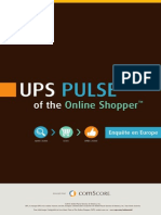 Infographie Etude UPS PULSE of the Online Shopper