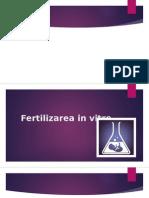 Fertilizare in Vitro