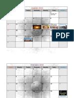 Indian Calendar with Holidays