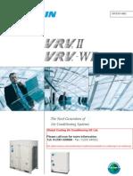 Daikin Brochure VRV-II Air Conditioning