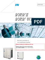 Daikin Brochure VRV-II Air Conditioning