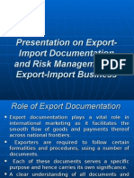 Export-Import Documentation