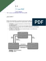 Separación Código en Tres Capas - Tutorial MVC Con PHP