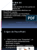 El Origen de Power Point