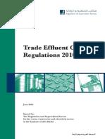 The Trade Effluent Control Regulations