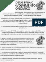 9 Propostas para o Desenvolvimento Econômico