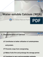 Water Soluble CalciumWCA