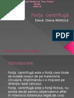 Aplicatii Medicale Pentru Forta Centrifuga