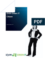 Sample Exam Green IT - Brazilian Portuguese