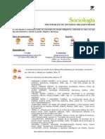 Sociología Bibliografía 1 2015