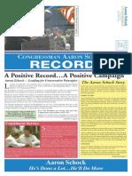 Congressman Aaron Schock Record 2012 - The Taxpayer's Voice