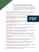 27 Legi Universale Ale Succesului de Peter Arnold