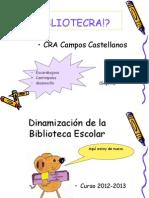 Biblioteca Del Mes de Abril 2013
