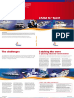 CATIA for Yacht Brochure
