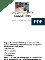 Orientacion y Consejeria