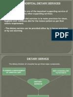 Hospital Dietary Services