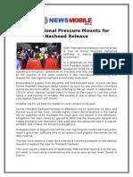 International Pressure Mounts for Nasheed Release