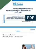 Expo 8 Manual de Procesos y Procedimientos - Subgerencia de Procesos