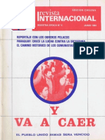 Revista Internacional Junio 1984 Edición Chilena
