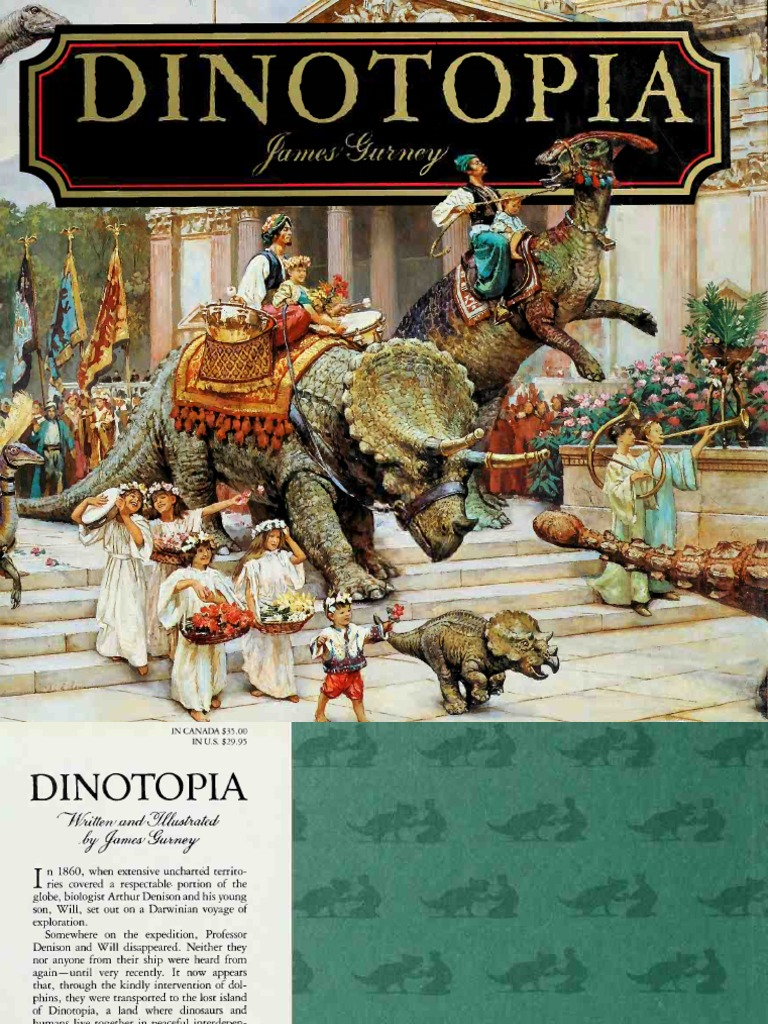 James Gurney Dinotopia A Land Apart From Time Sipdf
