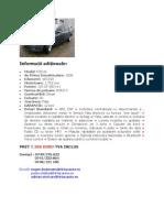 Specificatii Tehnice Ford Focus