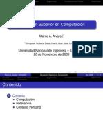 Ámbito de desempeño de la Ing. de Software, la Ciencia de la Computación y los Sistemas de Información