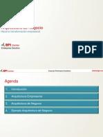 Expo 3 Arquitectura Negocio - Ing Abilio Tinoco - Consultora BPI