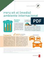 Perú en el (medio) ambiente internacional
