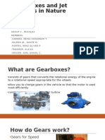 Gearboxes and Jet Engines in Nature & Living Things and Flight Technology~ Group 2 BIO20-A1