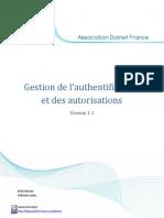 Gestion de L_authentification Et Des Autorisations