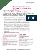 The Impact of Nurse Led Clinics on the Mortality.99638