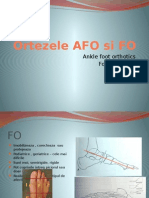 Ortezele AFO Si FO