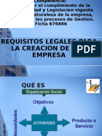 Marco Legal Creacion de Empresa