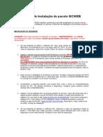 Manual de Instalação Do Pacote SICWEB