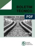 BT-082 Meio Fio Premoldado Concreto1