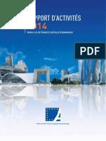 Rapport Activite 2014