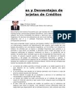 Ventajas y Desventajas de Usar Tarjetas de Créditos