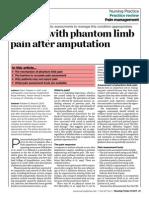 Dealing With Phantom Limb Pain After Amputation