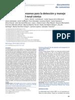 Consenso Para La Detección y Manejo de La Enfermedad Renal Crónica 2014 PARA PROYECTO