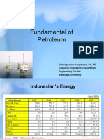 Fundamnetal of Petroleum