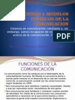 Funciones y Modelos Teóricos de La Comunicacion