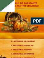 Curs VII Necesar Subst Nutritive MG III