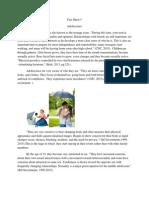 fact sheet5-adolescence