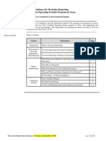 Deviation report Guidance in Pharma in Engineering Department