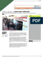 Cómo Sellar El Paro Por Internet - Libre Mercado