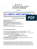 Dieta Metazhsbolica Dott. M. Di Pasquale
