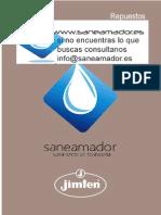 Recambios Jimten Saneamador 2015