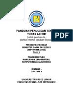 Panduan Penulisan TA D3 Semua Prodi v01