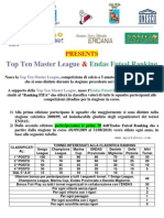 Top Ten Master League